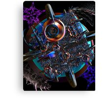 Alien Attack Canvas Print