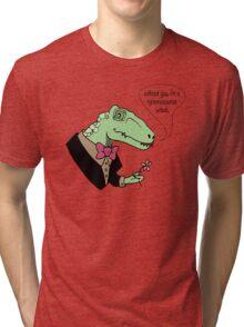 Tyrannosaurus Wreck Tri-blend T-Shirt