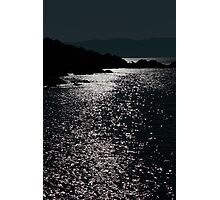 tranquil rocky kerry night view Photographic Print