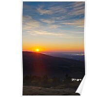 Cadillac Mountain Sunset.1 - Acadia National Park, Maine Poster