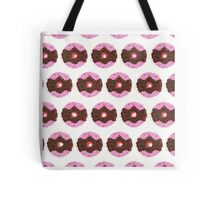 Chocolate Donut Pattern Tote Bag