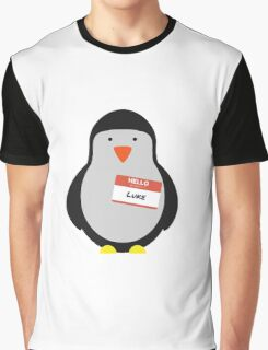 Luke Hemmings 5sos Penguin Graphic T-Shirt
