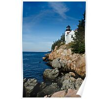 Bass Harbor Lighthouse - Acadia National Park, Maine Poster