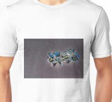Christmas:  Solarized Silver Stars T-Shirt