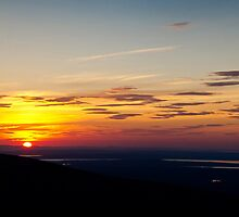 Cadillac Mountain Sunset.2 - Acadia National Park, Maine by Jason Heritage