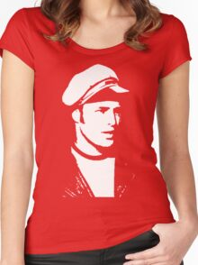 marlon brando t-shirt Women's Fitted Scoop T-Shirt