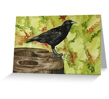 Stanley Park Crow Greeting Card
