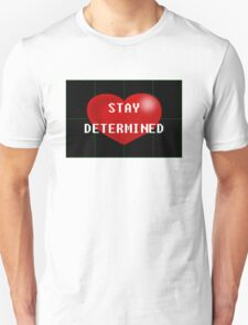Undertale - Stay Determined T-Shirt