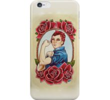 Rosie with Roses iPhone Case/Skin