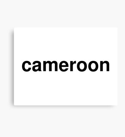 cameroon Canvas Print