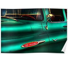 """"""" 3100, a Teal Sunset """" Poster"""