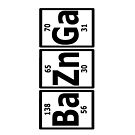 Television: Big Bang Theory - BaZnGa! (Black) by UberPBnJ