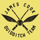 JCU QUIDDITCH TEAM - BLACK by zbickhoff