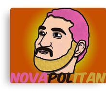 Novapolitan Background Canvas Print