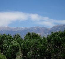 Clouds Over The Whites by marilyn diaz