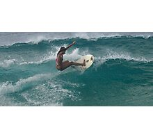 Surfing The North Shore Photographic Print