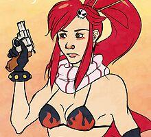 Get Me a Bigger Gun by Hotchpotch-Art