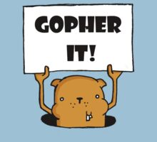 Gopher It! Kids Tee