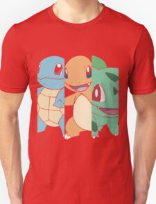 Pick Your Starter Pokemon T-Shirt