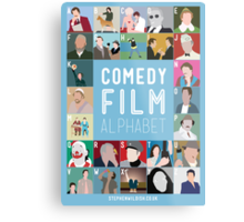 Comedy Film Alphabet Metal Print