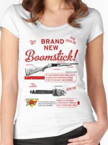 The brand new Boomstick Women's Fitted Scoop T-Shirt