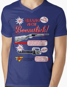The brand new Boomstick Mens V-Neck T-Shirt