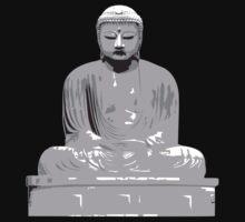 Japanese Buddha T-Shirt by AsianT-Shirts