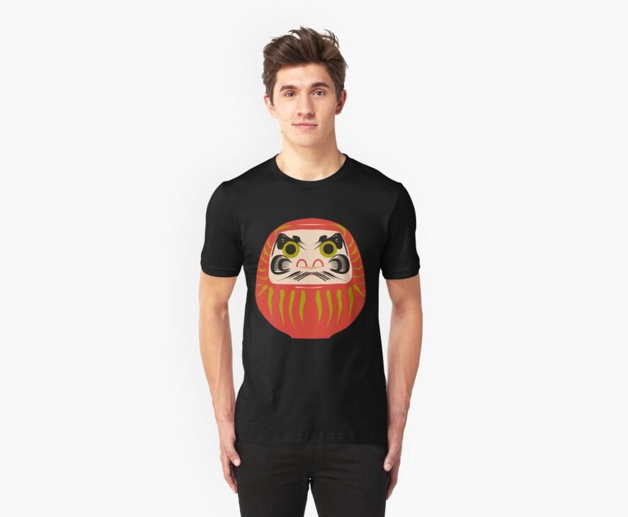 Japanese Daruma T-Shirt by AsianT-Shirts
