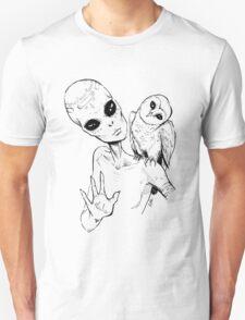 Alien Greeting Unisex T-Shirt