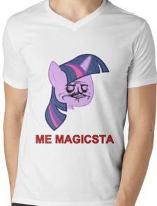 Twilight Sparkle ME GUSTA (Magicsta, Elements of Harmony) Mens V-Neck T-Shirt