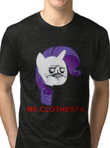 Rarity ME GUSTA (Clothesta) Tri-blend T-Shirt
