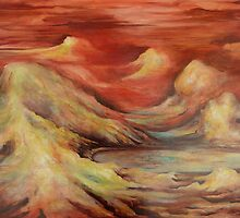 Mystic Mountains by Cathy Gilday