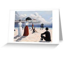 Atlantic City Beach Greeting Card