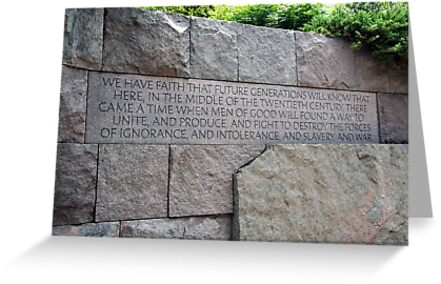 FDR - We have faith... by WalnutHill