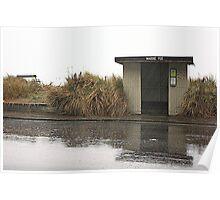 Grainy rain Poster
