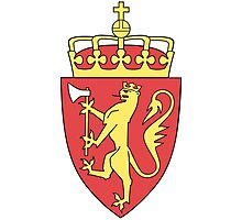 Coat of Arms of Norway  Photographic Print