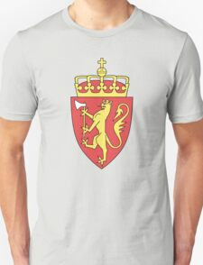Coat of Arms of Norway  Unisex T-Shirt
