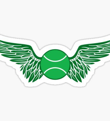 tennis winged  Sticker