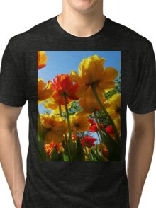 Tulips 8 Tri-blend T-Shirt