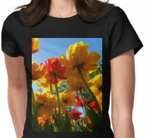 Tulips 8 Womens Fitted T-Shirt