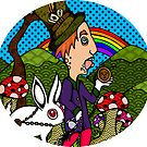 Mad Hatter & Rabbit by Octavio Velazquez