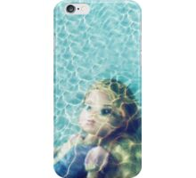 Underwater (Kid Art) iPhone Case/Skin