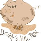 Daddy's little piggy- Babies clothing by Diana-Lee Saville