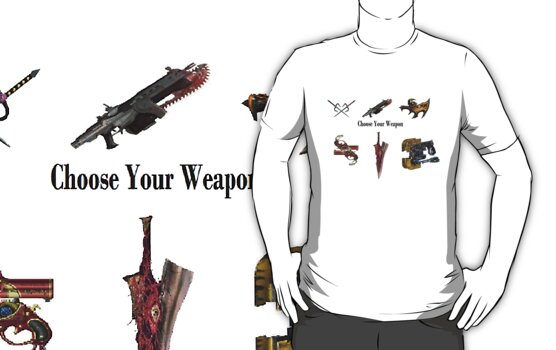 Choose Your Weapon! by ShootThatZombie