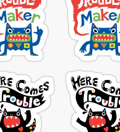 Stickers - Lotsa Trouble Makers Sticker