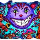 Cheshire Kitty by Octavio Velazquez