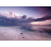 Flow in Pastels - Trannies Beach Photographic Print
