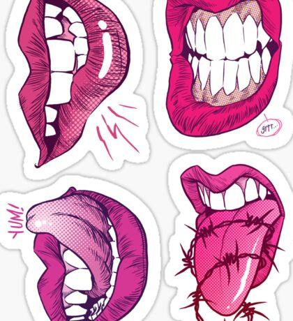 Lips Sticker Collection Sticker