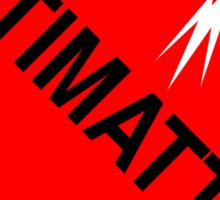 Antimatter: Hazardous! Sticker