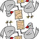 music bird by Soxy Fleming